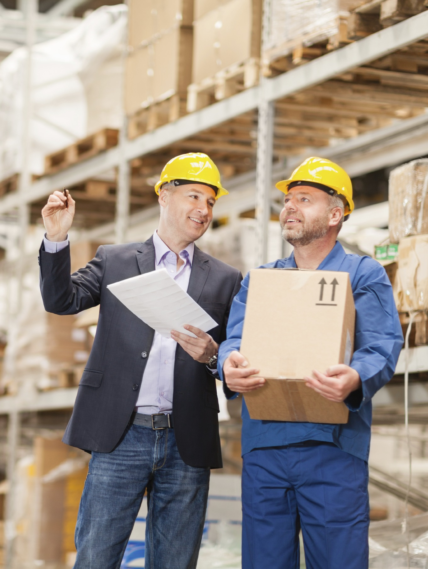 Warehouse Shipping Receiving