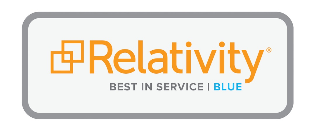kCura Relativity Best in Service Blue MCS press release