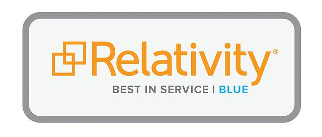 kCura Relativity Best in Service Blue MCS press release
