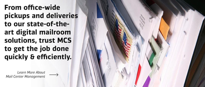 Mail Center Management MCS
