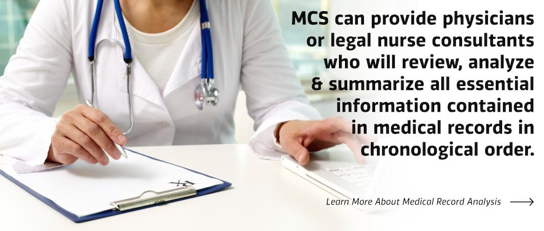 Medical Record Organization & Analysis